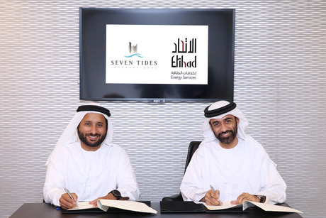 Etihad ESCO signs service deal with Seven Tides