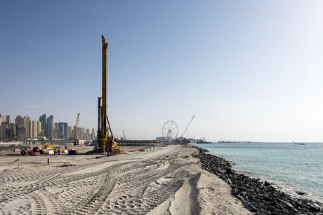 Emaar begins Beach Vista construction on Dubai island