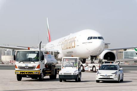 Dnata acquires eco-friendly hybrid fleet from Al-Futtaim Motors