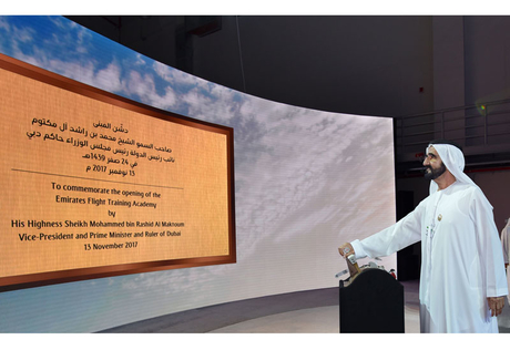 Dubai Ruler opens Emirates airline's 16ha training academy