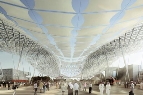 Augmented reality-reveal for Expo 2020 master plan