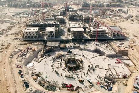 Video:  Expo 2020 Dubai construction update   May 2018