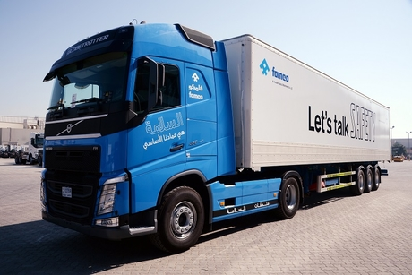 Volvo Trucks expands safety features in UAE