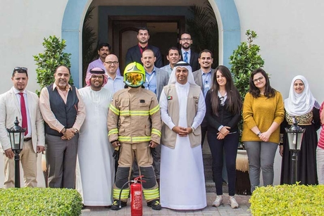 Falconcity of Wonders conducts fire safety session