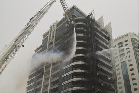 Fire hits Zen Tower in Dubai Marina