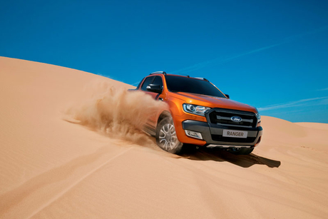 Ford and Al Tayer launch 2016 Ranger pickup in UAE
