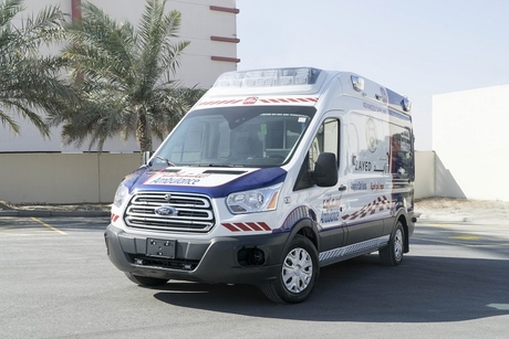 'Ambulance of the future' unveiled at Dubai's Arab Health Expo