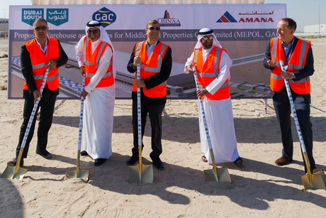 UAE: GAC breaks ground on Dubai South warehouse