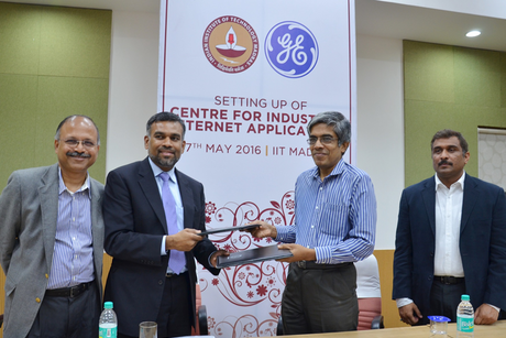 GE to set up industrial excellence centre in India