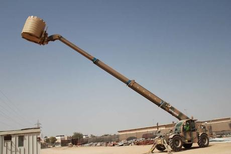 Oman military recruits Genie GTH-4018 telehandler