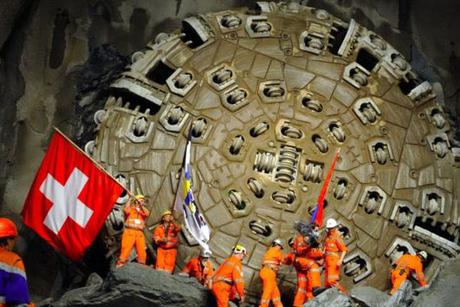 Switzerland opens world's longest, deepest tunnel