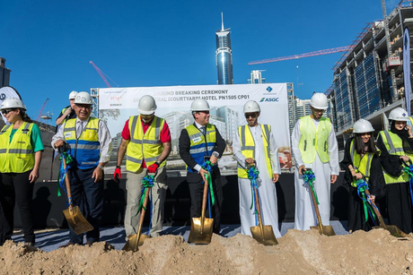 ASGC wins main contract for world's largest 25hours Hotel