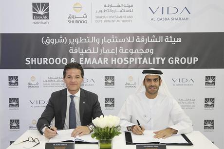 Shurooq partners with Emaar to build Vida hotel in Sharjah