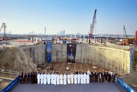 Video: Emaar's The Tower completes excavation work