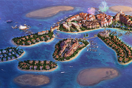Dubai's St Petersburg Island targets honeymooners