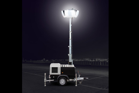 Morris Site Machinery launches 'Halo' anti-glare lighting tower