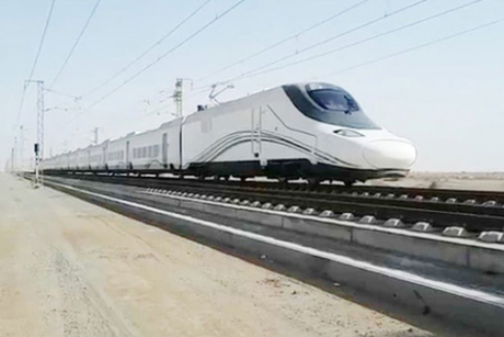 Saudi's Haramain train to handle 15,000 passengers