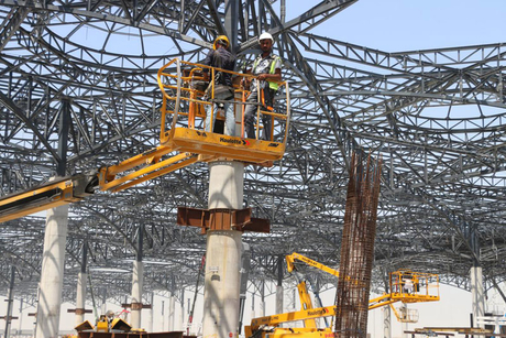 In Pictures: Haulotte at Turkey's $12.7bn new Istanbul airport