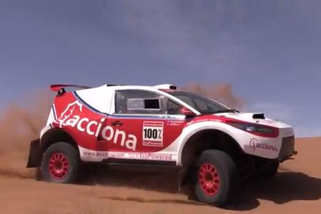 Himoinsa powers Dakar Rally's first electric model