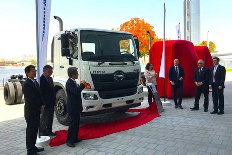 Al-Futtaim Motors launches upgraded Hino 500 Series