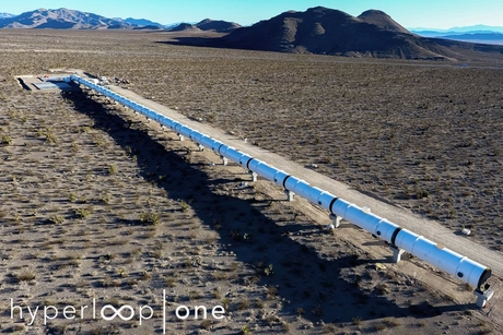 Hyperloop One reveals first images of test site