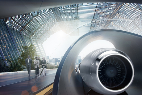 Construction begins on world's first full-scale hyperloop system