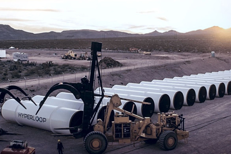 Hyperloop One mulls building first system in Dubai