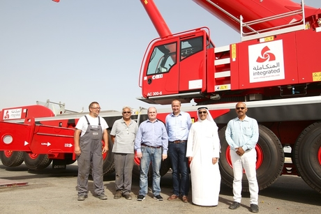 ILC takes delivery of two DemagAC 300-6 cranes