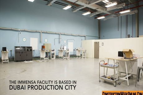 Video: Inside Immensa's 3D printing Dubai facility