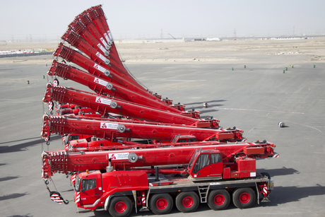 Kuwait: Integrated Logistics buys 24 Grove cranes