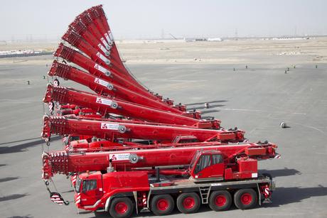 Kuwait: Integrated Logistics buys 24 Grove cranes