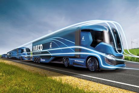 Iveco unveils 2,200km-range LNG concept truck