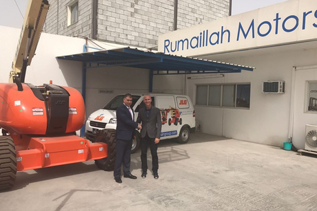 JLG inks Qatar distribution contract with Rumaillah Motors