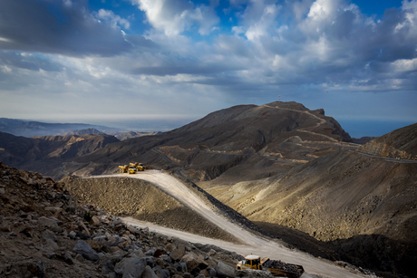 In Pictures: Jebel Jais Mountain Road development