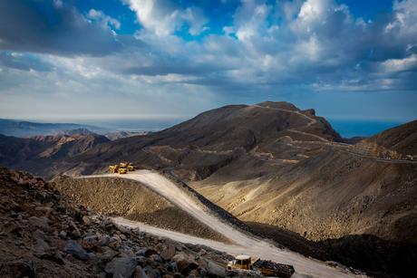 Site visit: Jebel Jais Mountain Road, UAE