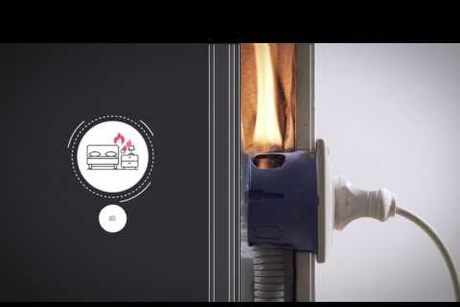 Video: K5 Safety Patch fire suppressant in action