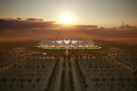 In Pictures: Modified King Fahd Int'l Stadium