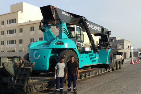 Konecranes equips Saudi container yard with reach stackers