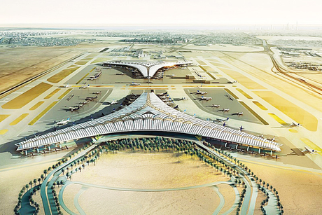 How long will Limak take to extend Kuwait Airport?