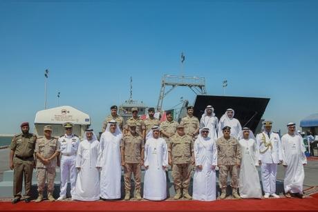 ADSB hands over Kuwait's military landing vessel
