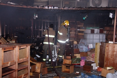 Fire breaks out at 700sqm warehouse in Kuwait
