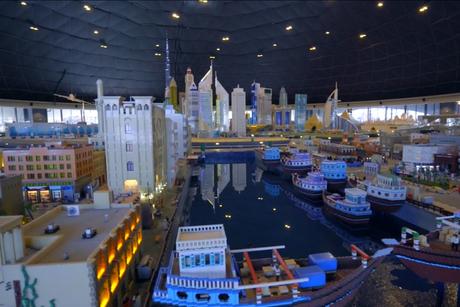 Five videos that show how Legoland Dubai was built