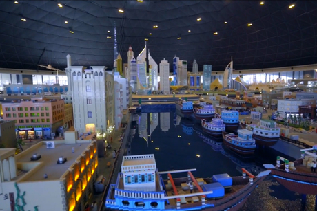 Five videos that show how Legoland Dubai was built