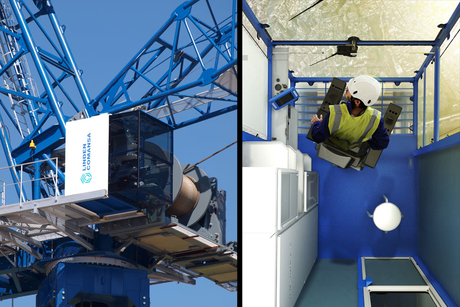 Linden Comansa unveils high visibility CUBE cab for tower cranes