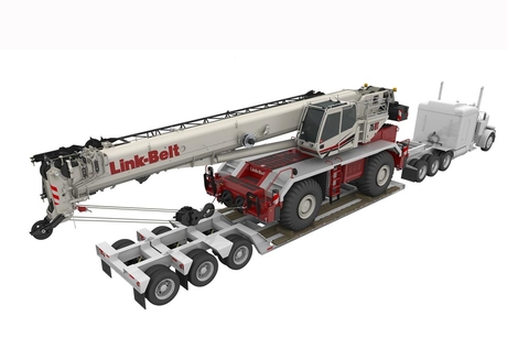 Link-Belt debuts next-gen 70t rough-terrain crane