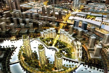 French firm behind LED lights at MBR City in Dubai