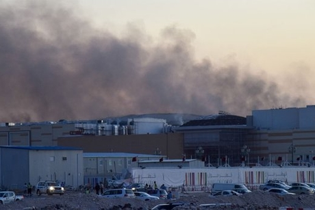 14,000 evacuated as Mall of Qatar catches fire