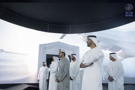 Abu Dhabi Crown Prince visits Museum of the Future