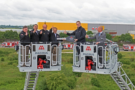 CNH Industrial begins handover of 100 Magirus fire engines to Chile