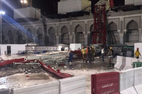 Trial for Makkah crane crash to begin next week